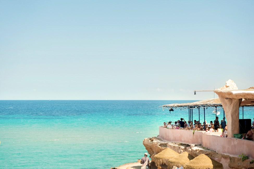 Las Salinas Beach, söder om Playa d'en Bossa