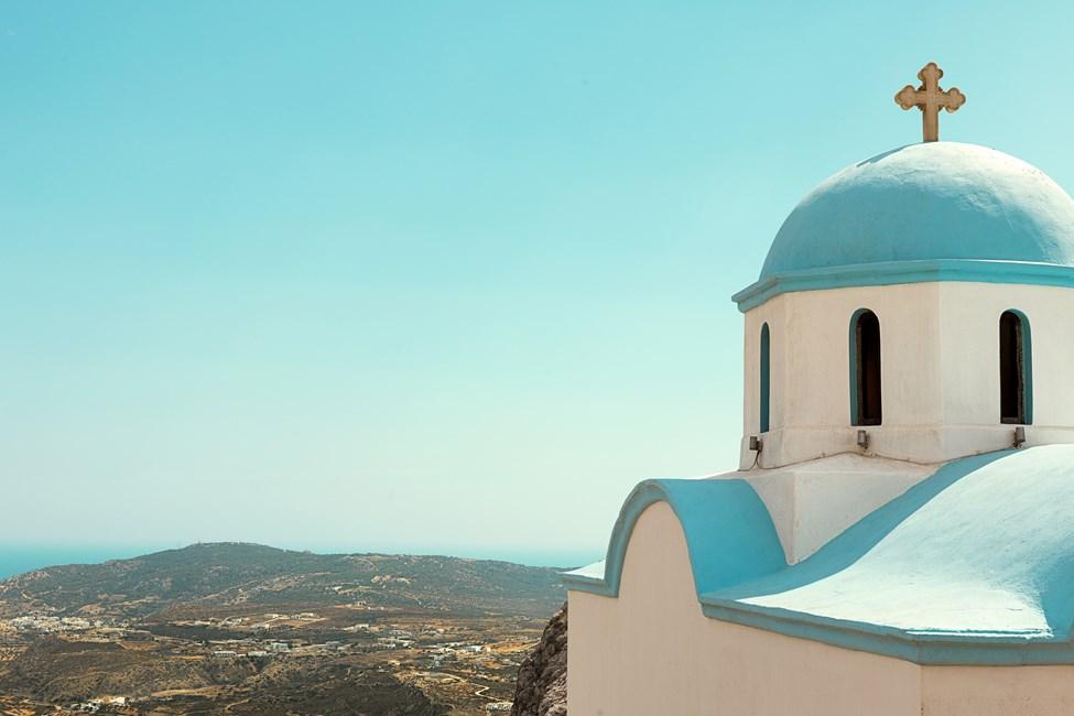 Mellan Karpathos stad och Lefkos