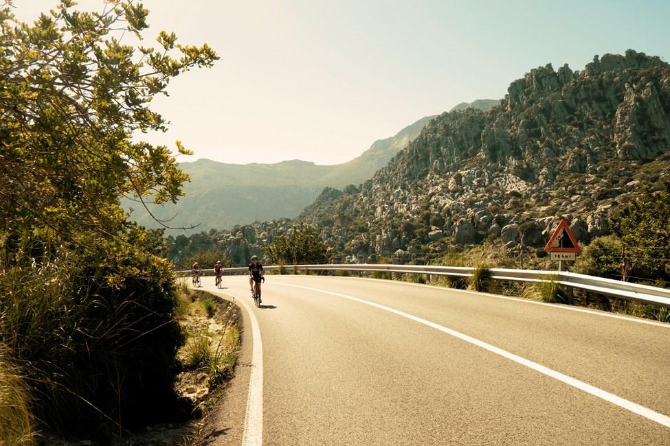 Triathlonträning på Mallorca