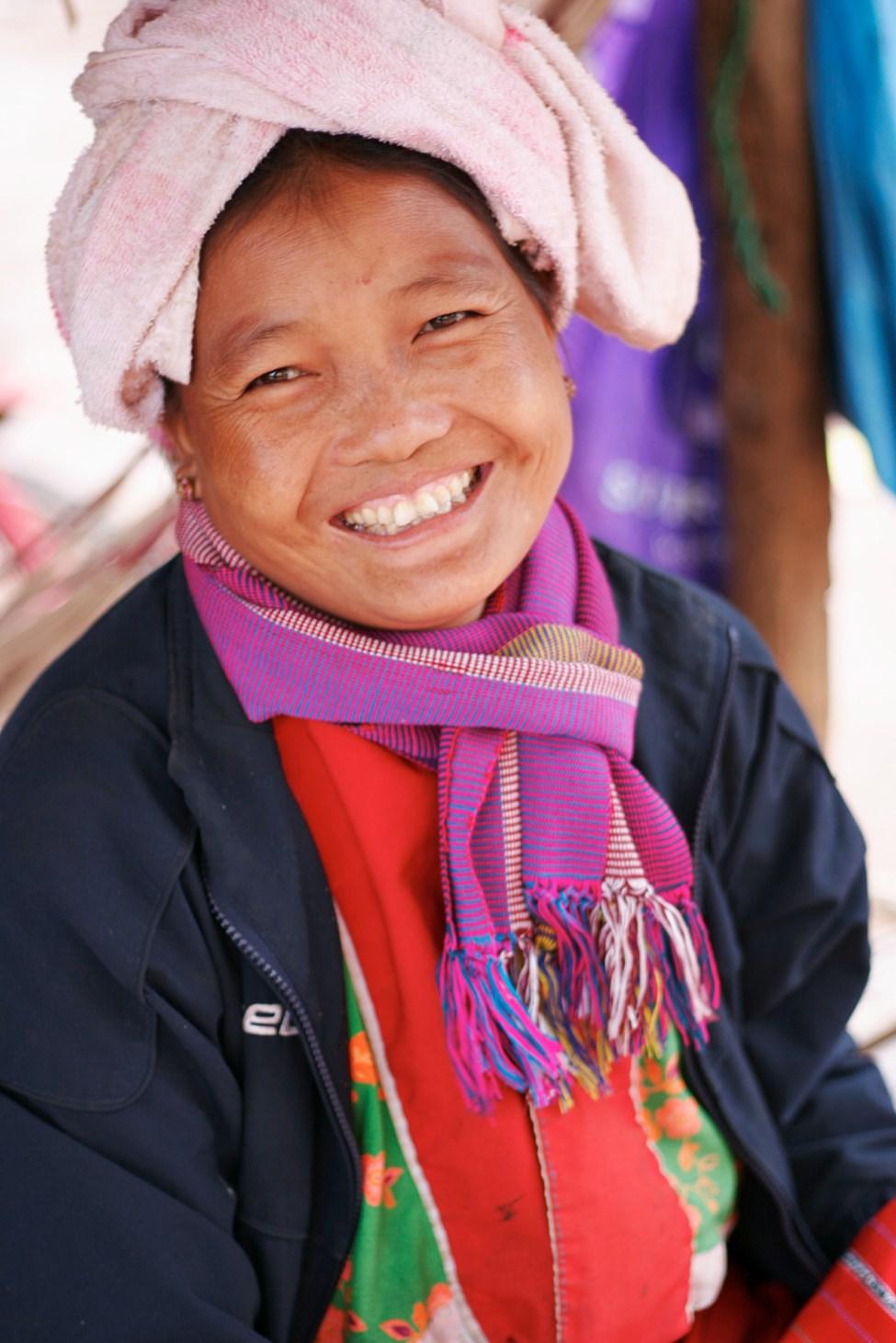 Utflykt till stammarna i bergen, Chiang Mai