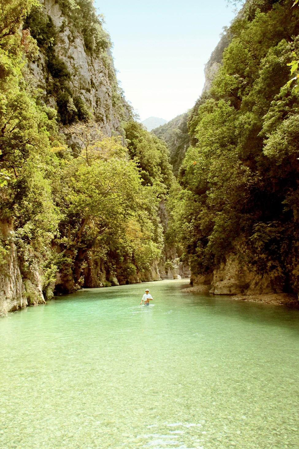 Floden Acheron, Parga