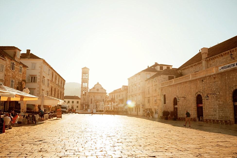 Gamla stan i Dubrovnik