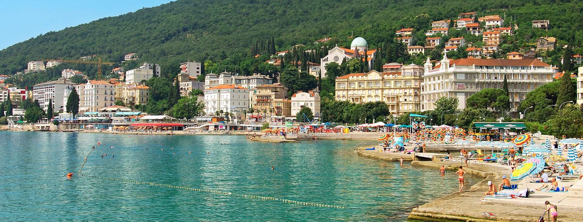 Resor till Istrien i Kroatien
