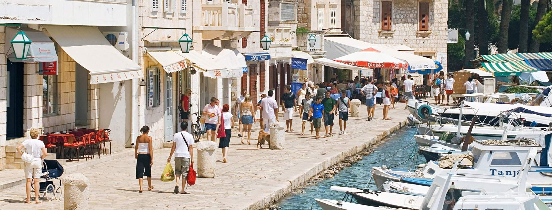 Resor till Hvar i Kroatien