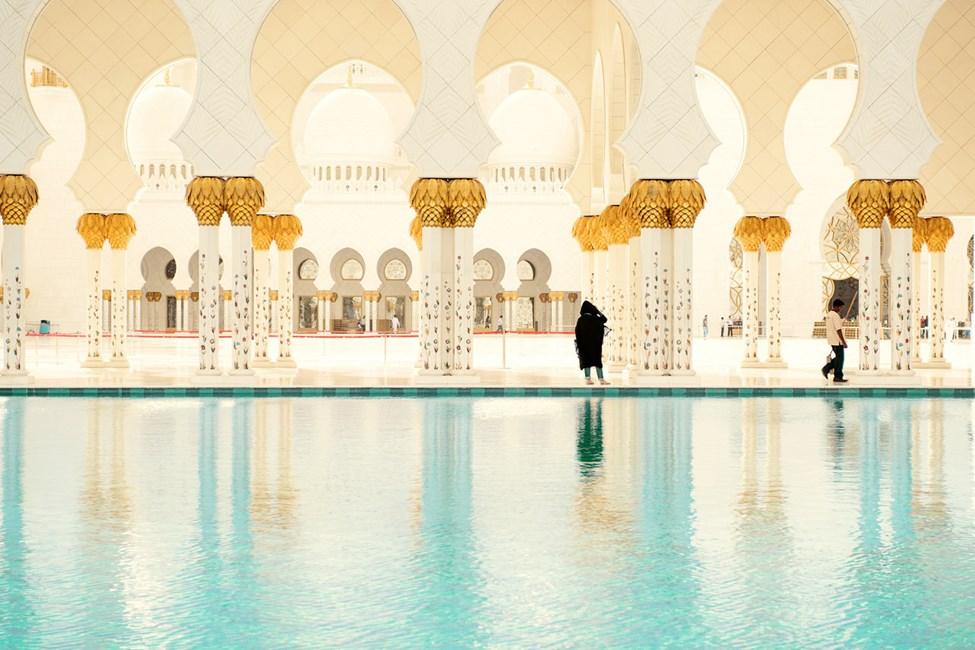 Schejk Zayed-moskén, Abu Dhab