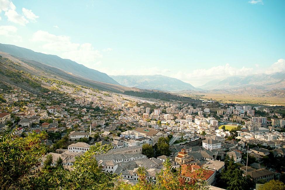 Utflykten Allsidiga Albanien och Gjirokastra