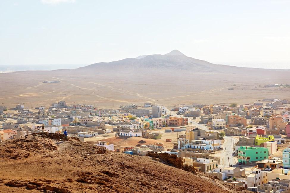Huvudstaden Espargos på Sal