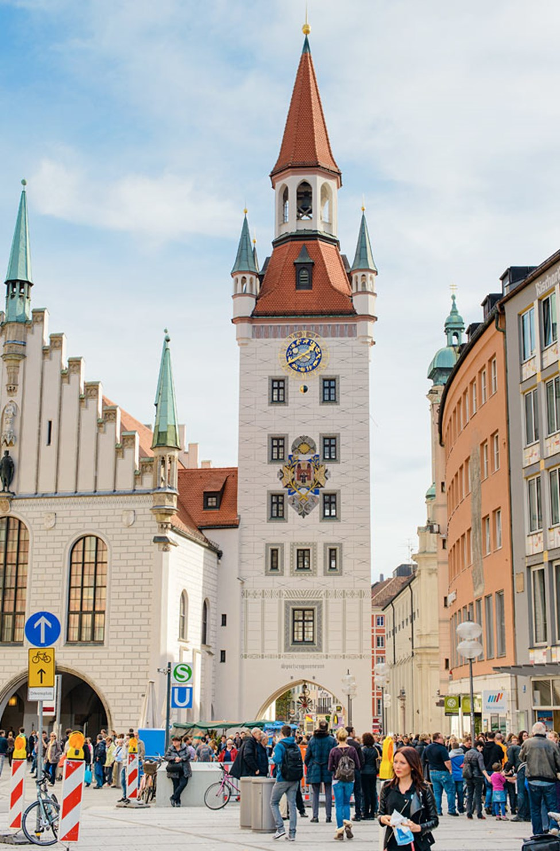 Altes Rathaus, Marienplatz i München