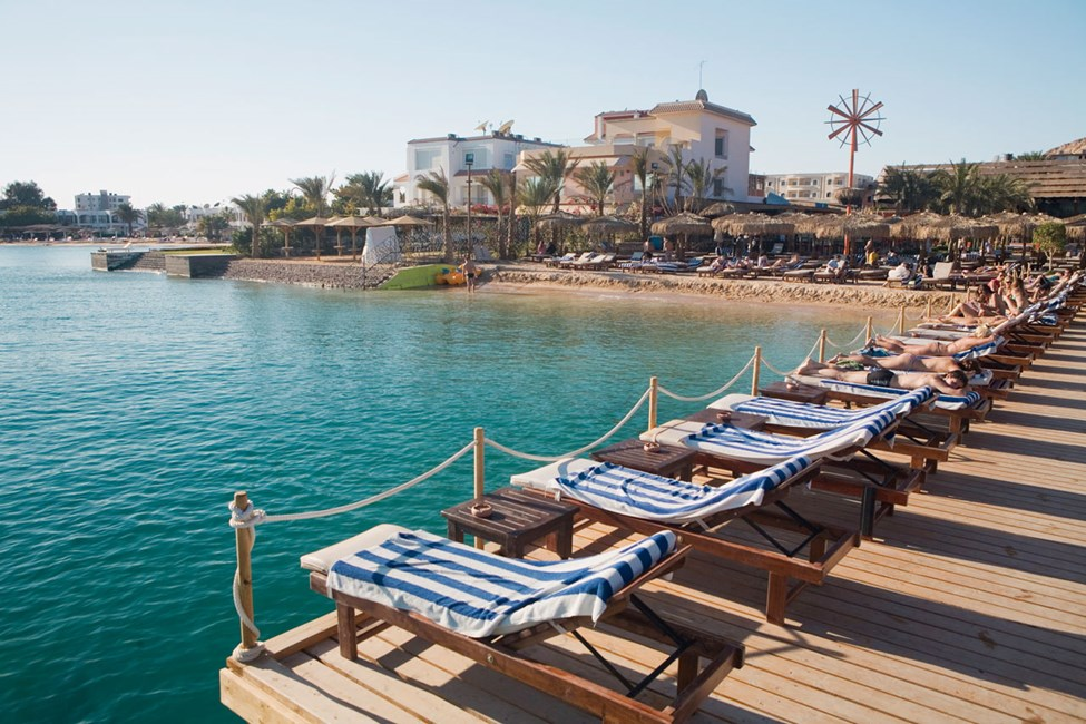 Hurghada, Elysess Beach Club and Bar