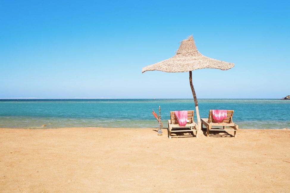Hurghada, Paradise Beach