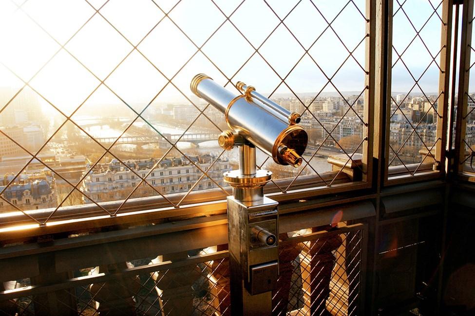 Utsikt från Eiffeltornet, Paris