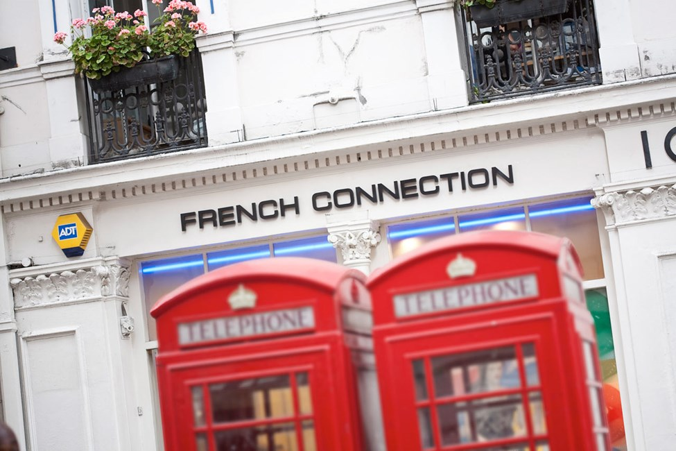 French Connection, Off Oxford Street i London