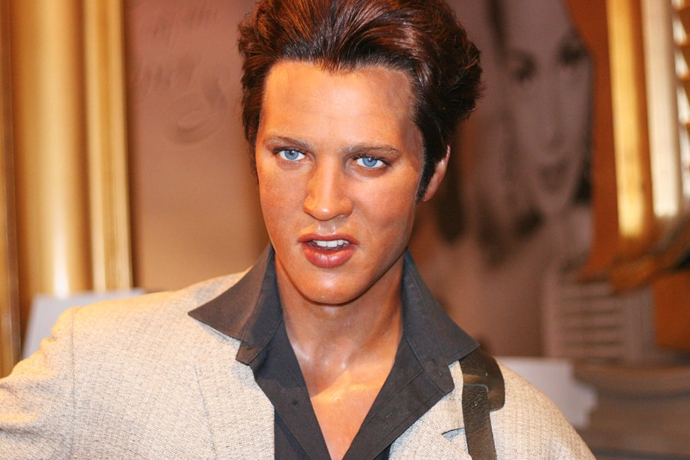 Elvis Presley på Madame Tussauds i London