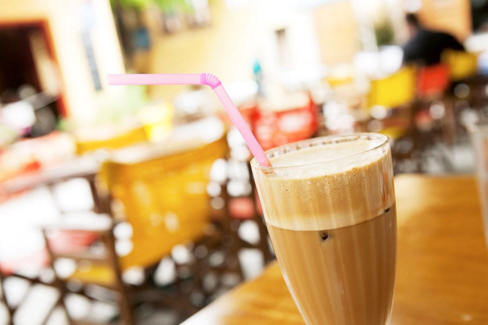 Frappé - en iskall kaffedryck