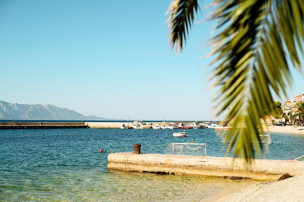 Brela, Makarska rivieran
