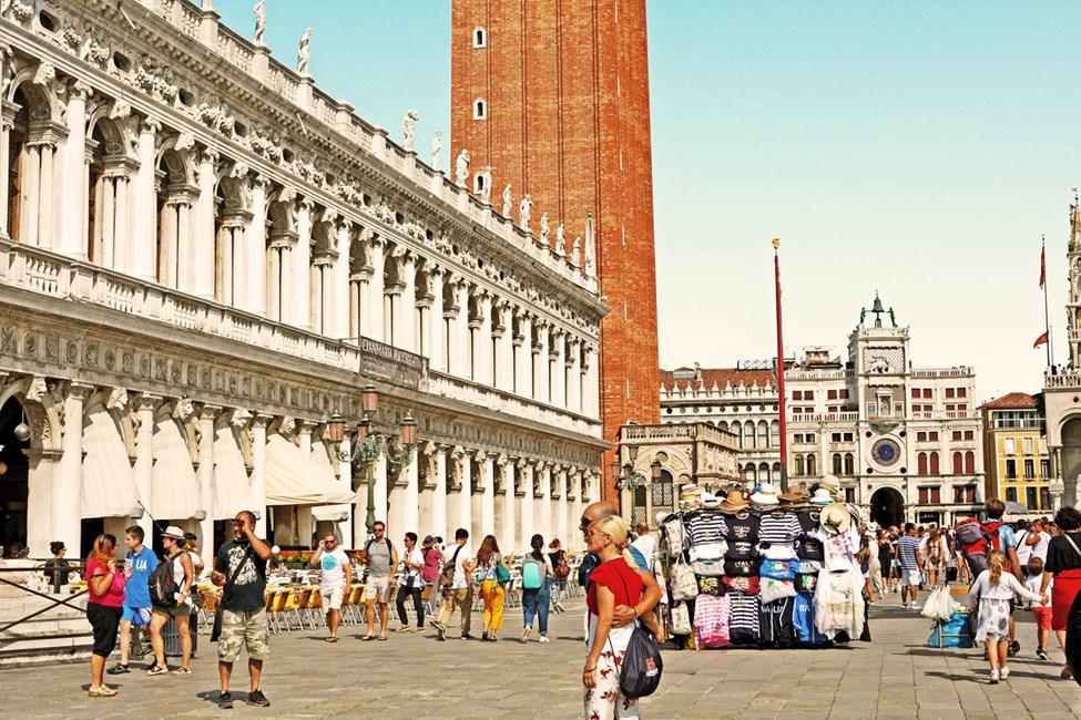 San Marco torget, Venedig