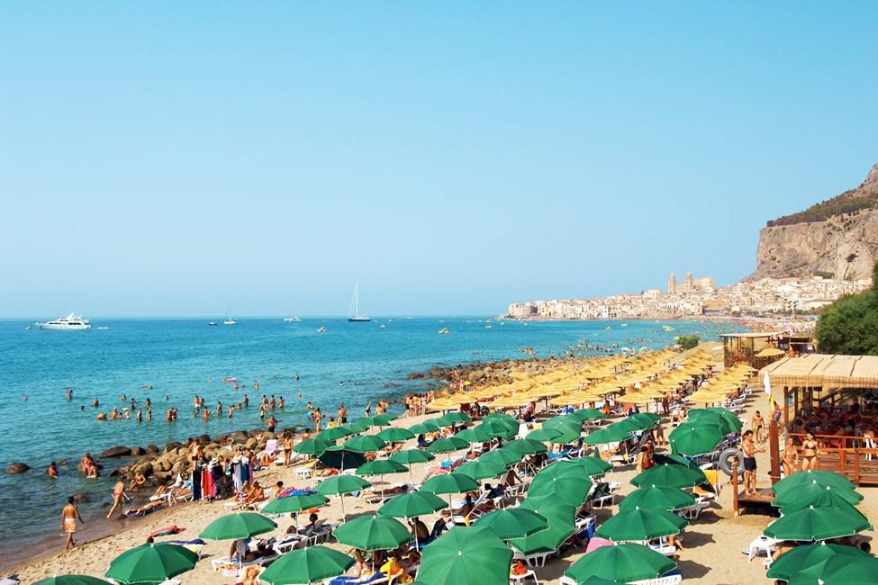 Cefalù, Sicilien
