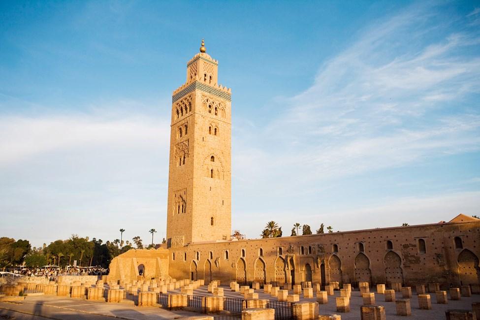 La Koutoubia-minareten i Marrakech