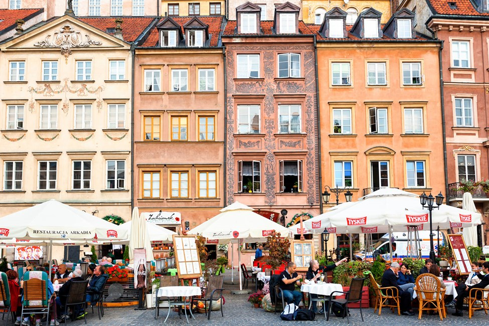 Fasader i Krakow