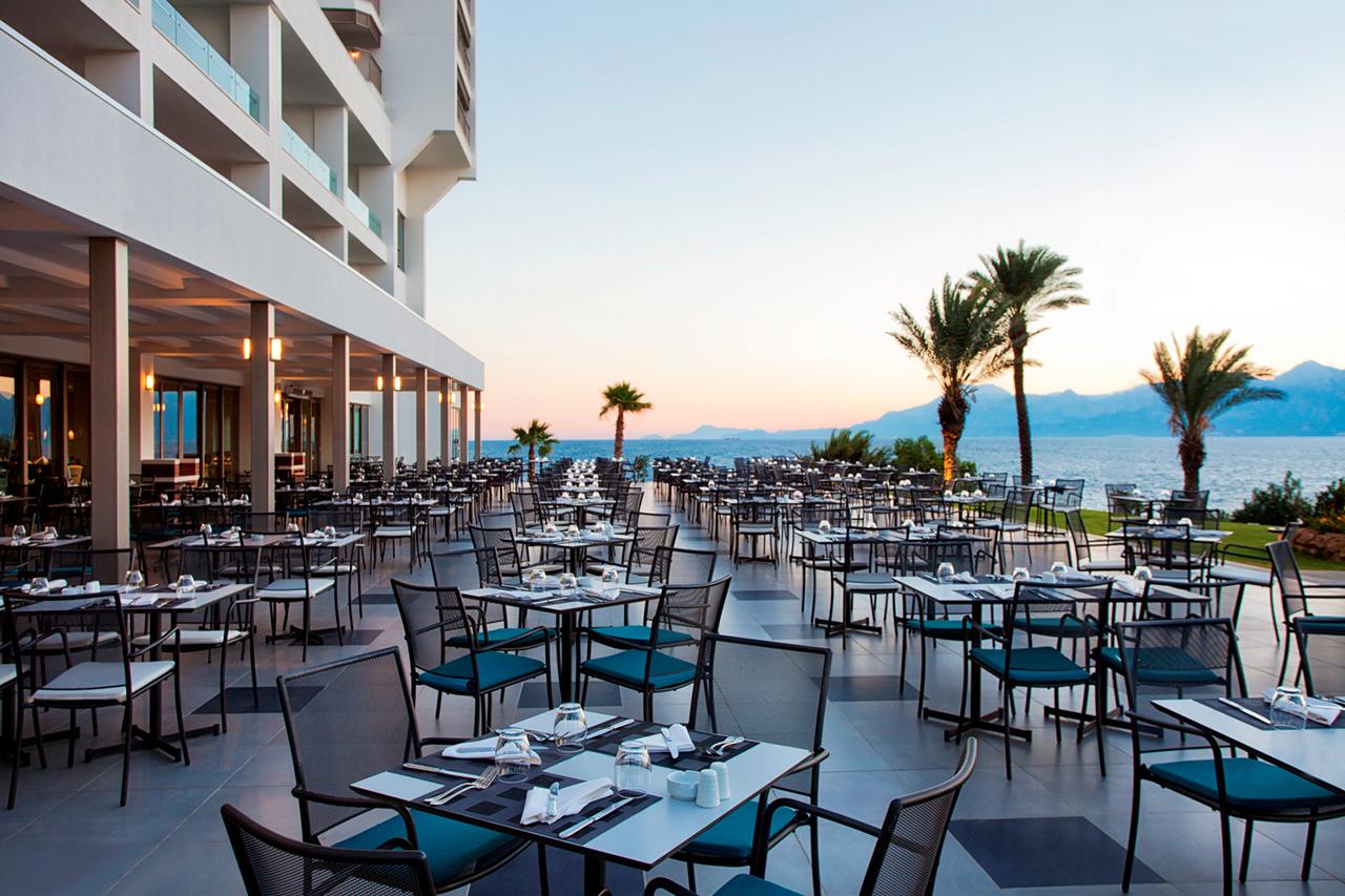 Restaurangen på Akra Hotel