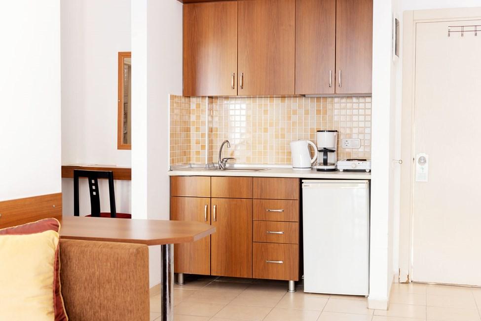Sovrummet i tvårumslägenhet