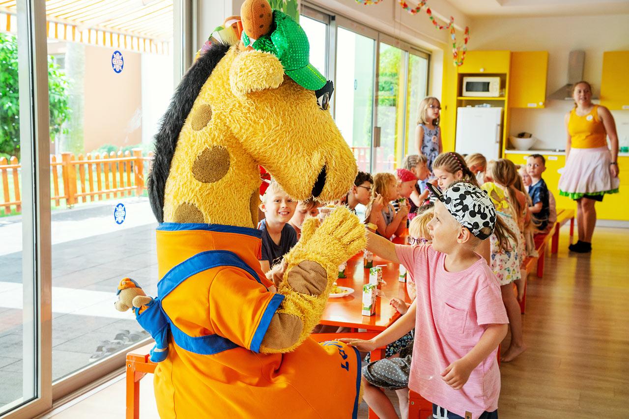 I Lollo & Bernie's Mini Land kan du fira Lollo eller Bernie's födelsedag.