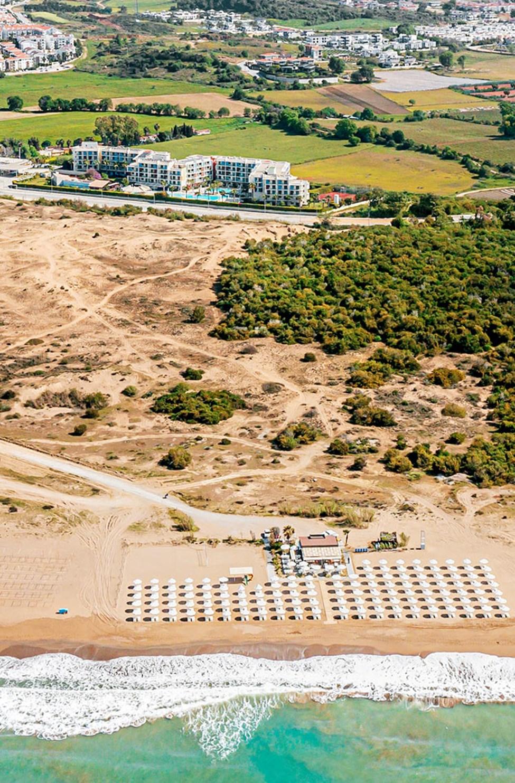 Sunwing Side Beach och östra stranden.