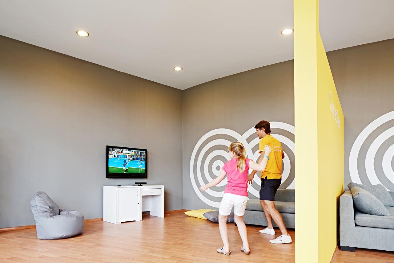På våra SunConnect-hotell finns en mängd aktiviteter och underhållning i den interaktiva världen