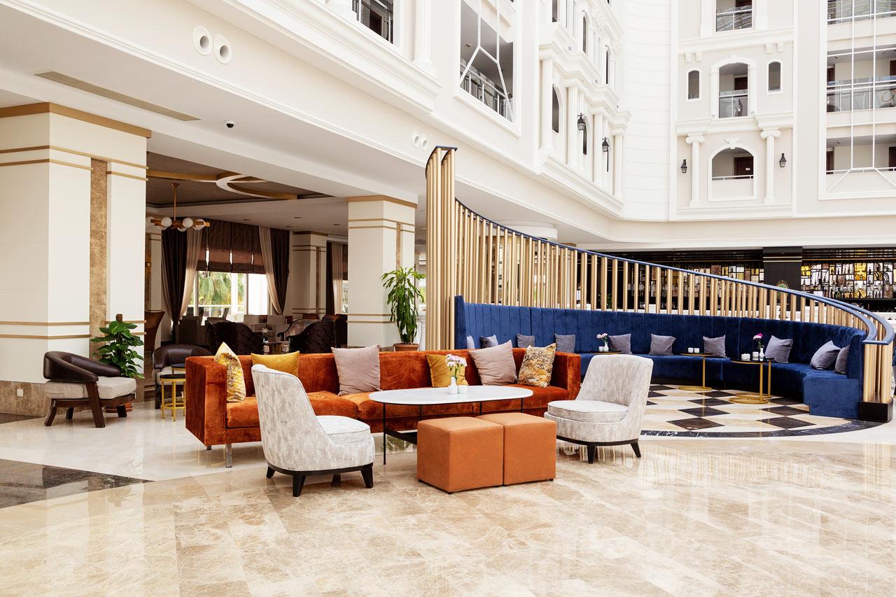 Lobby- och receptionområdet