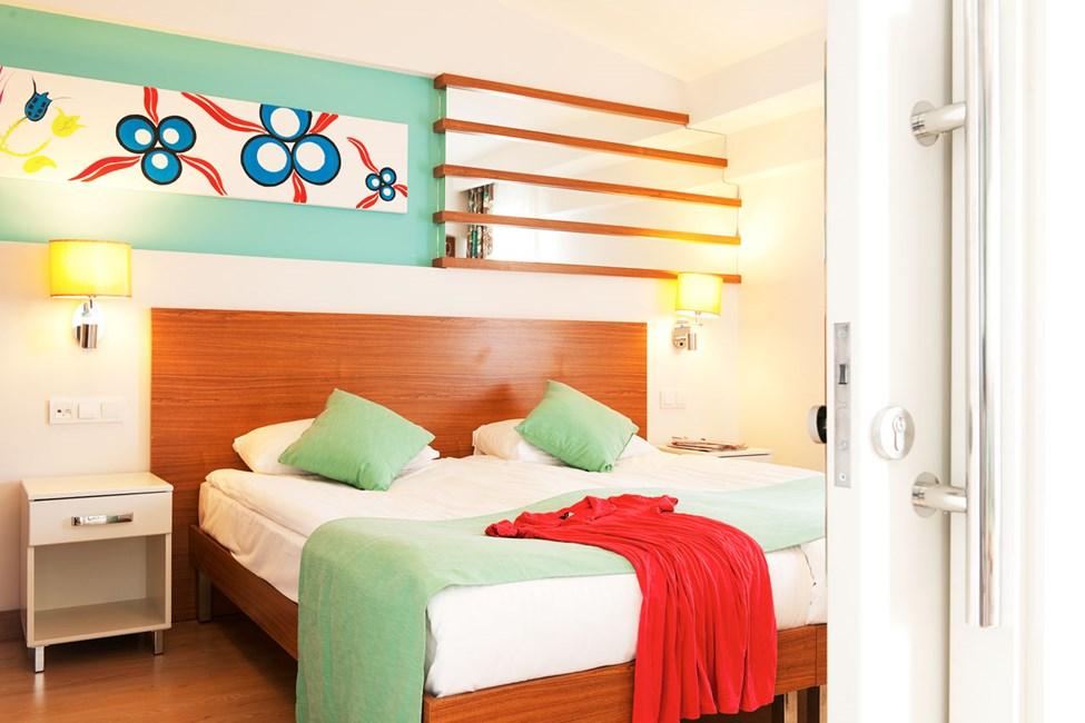 Sovrum i två- och trerumslägenhet