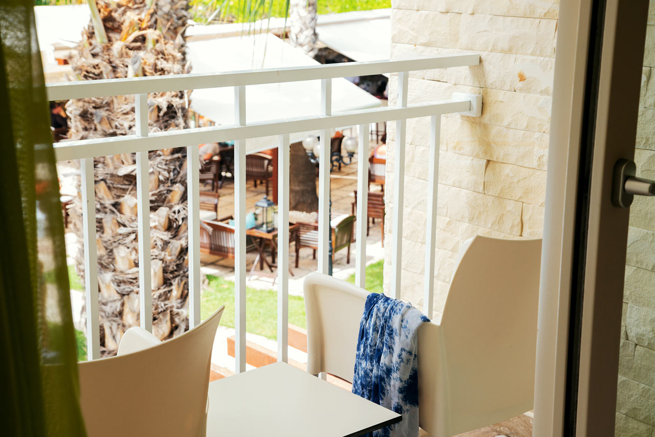 Classic Room 1 rum, liten balkong mot trädgården