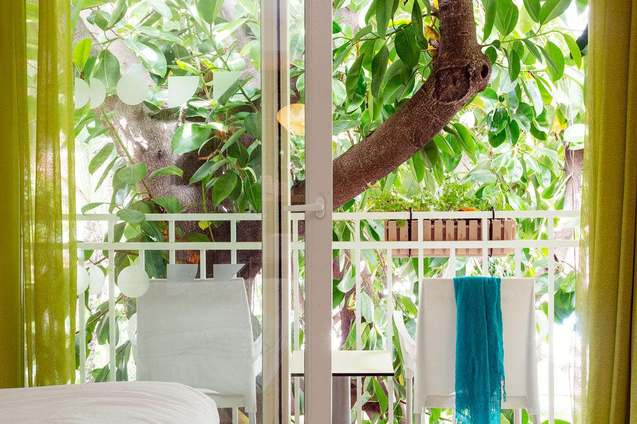 Classic Room med liten balkong, ingen utsikt.