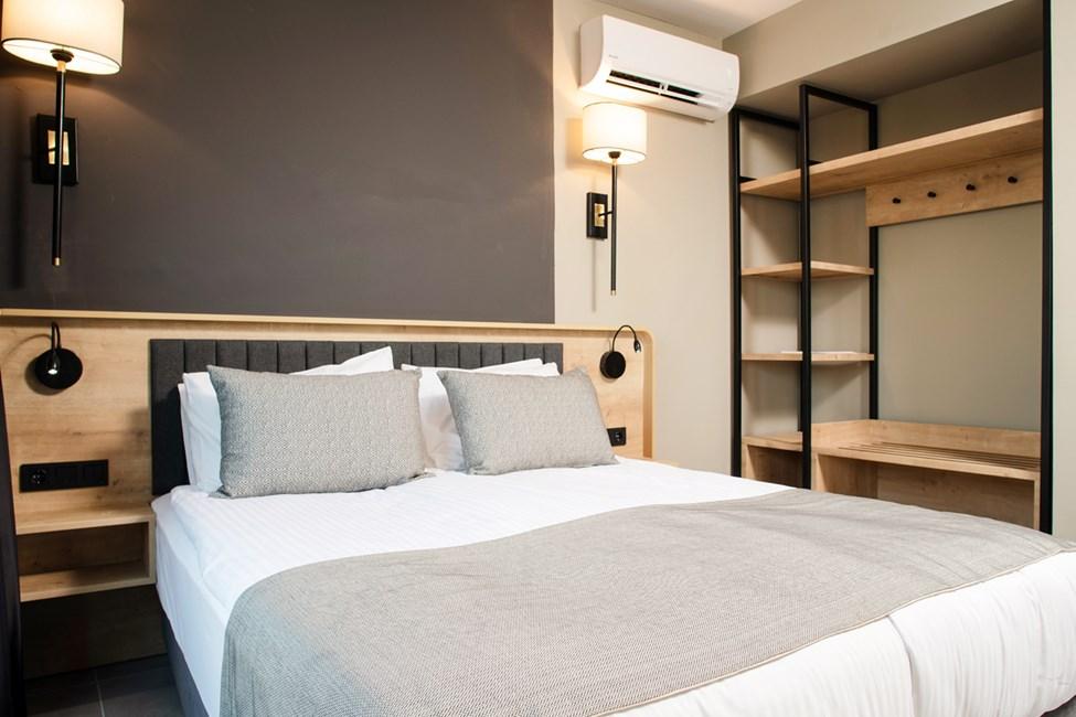 Sovrum i tvårumslägenheterna