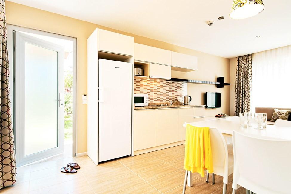 Trerumslägenhet i hus/villa med 4 ordinarie bäddar