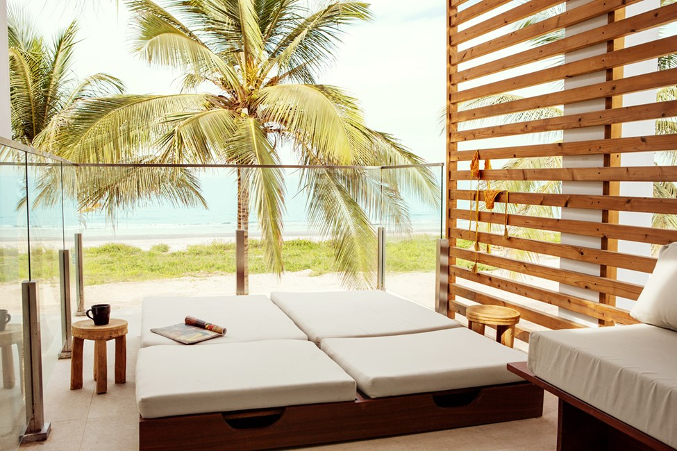 Classic Suite 1 rum, balkong mot havet