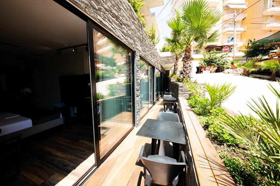 Dubbelrum med balkong, bottenvåning