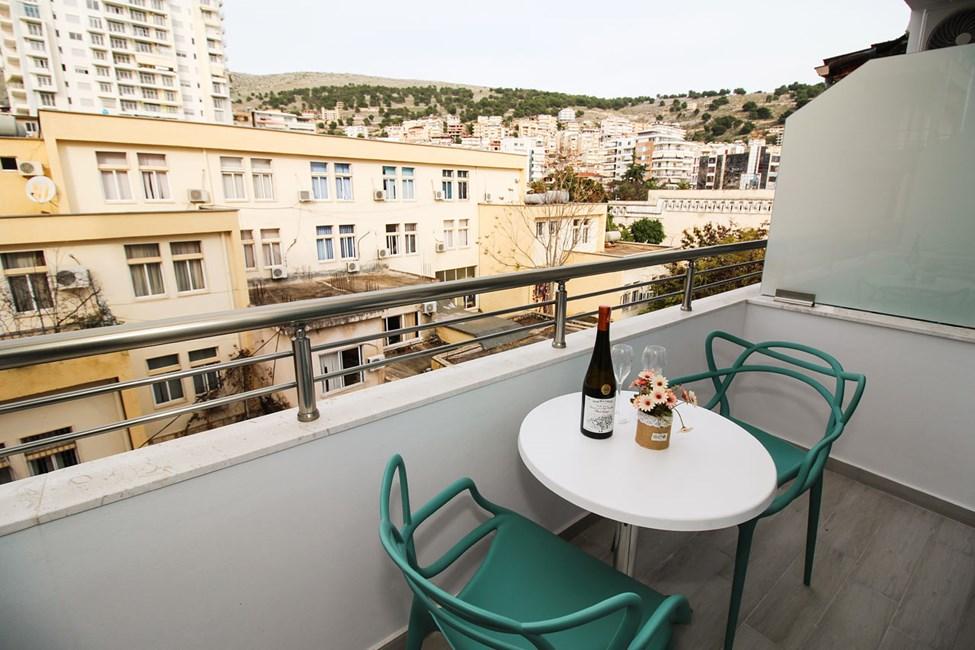 Dubbelrum med balkong