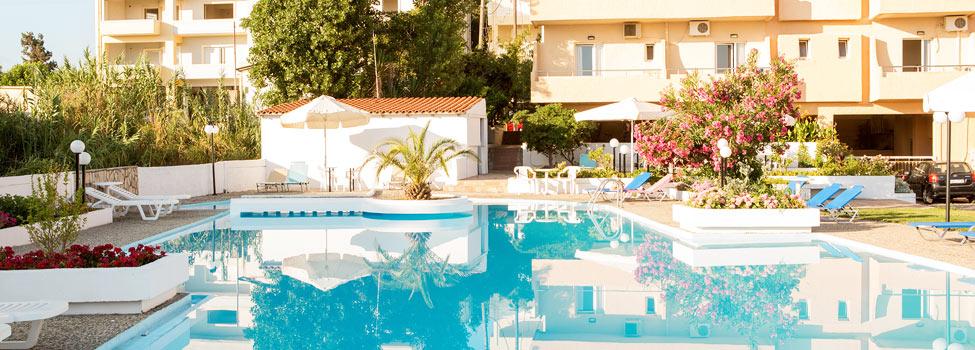 Albatros Hotel, Chaniakusten, Maleme, Kreta, Grekland