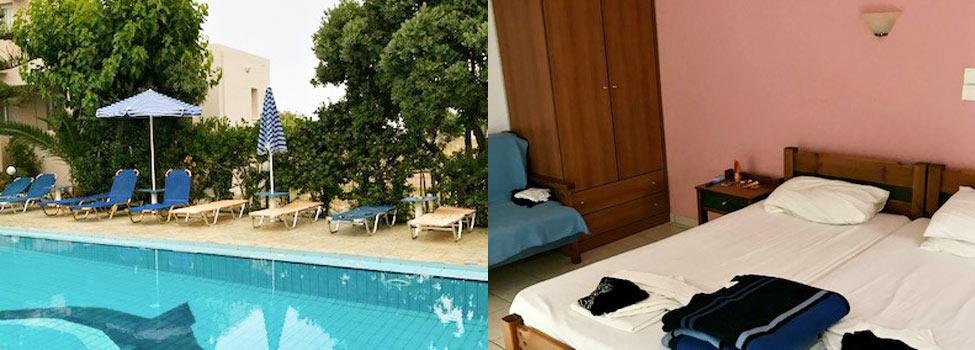 Michalis Apartments, Chaniakusten, Kolimbari, Kreta, Grekland