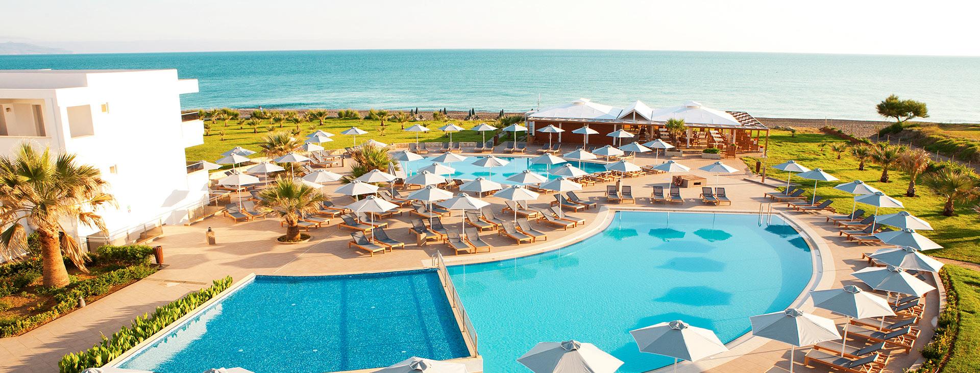 Sunprime Platanias Beach, Chaniakusten, Platanias, Kreta, Grekland