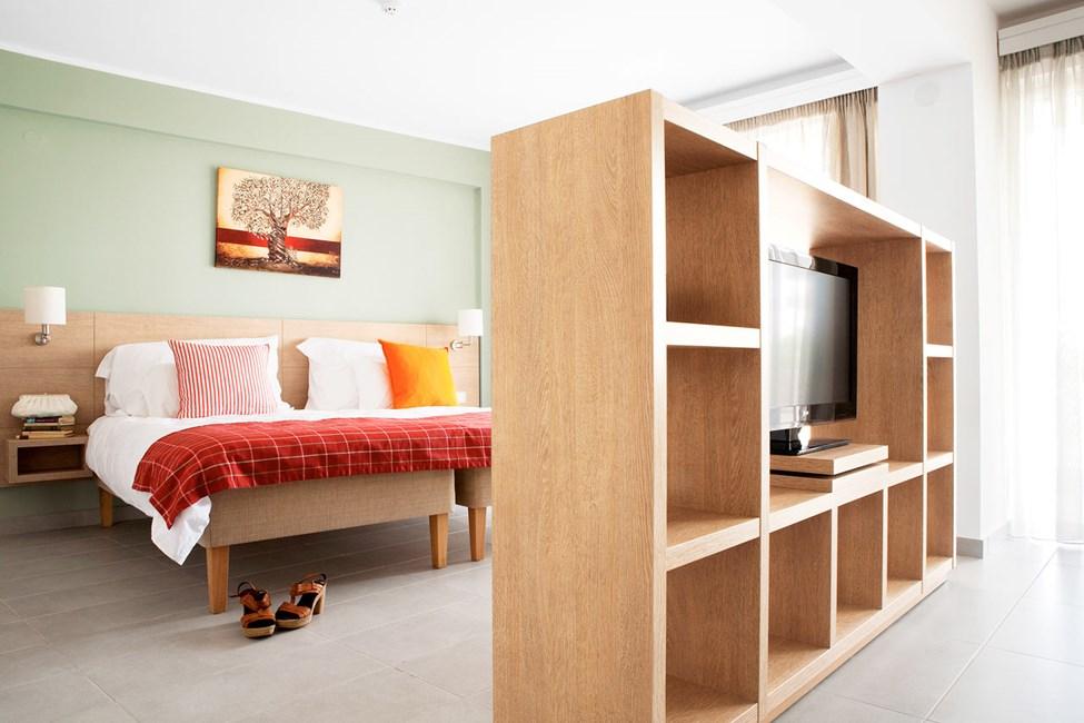 Classic Suite har kombinerad sov- och vardagsrumsdel och passar dig som vill ha gott om plats.