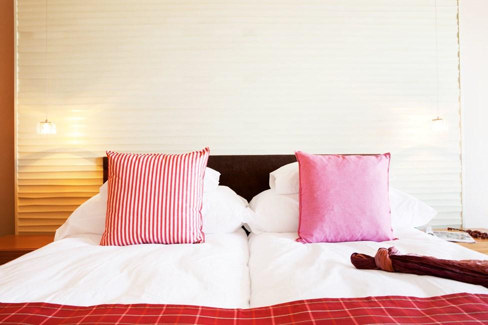 Classic Room är modernt inredda, ljusa och luftiga rum med balkong eller terrass.