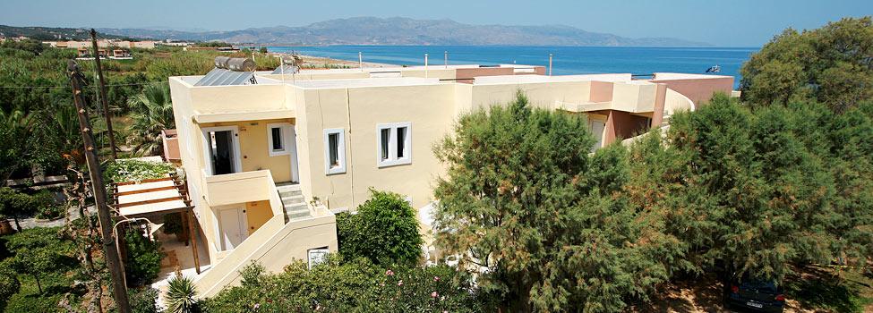 Ariana Apartments, Chaniakusten, Gerani, Kreta, Grekland