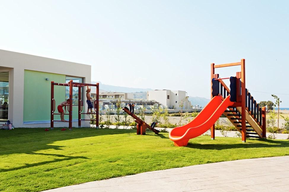 Lekplatsen vid barnklubben