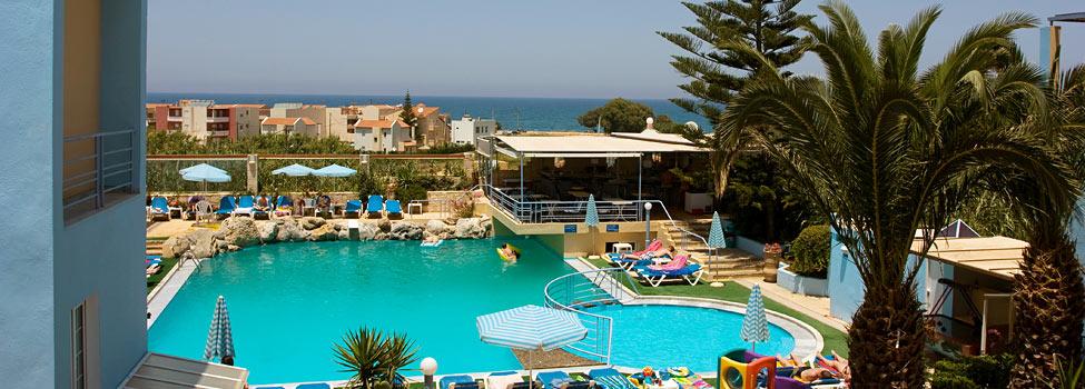 Futura Hotel, Chaniakusten, Maleme, Kreta, Grekland