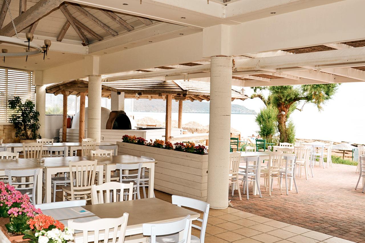 Restaurangen på Iolida Beach