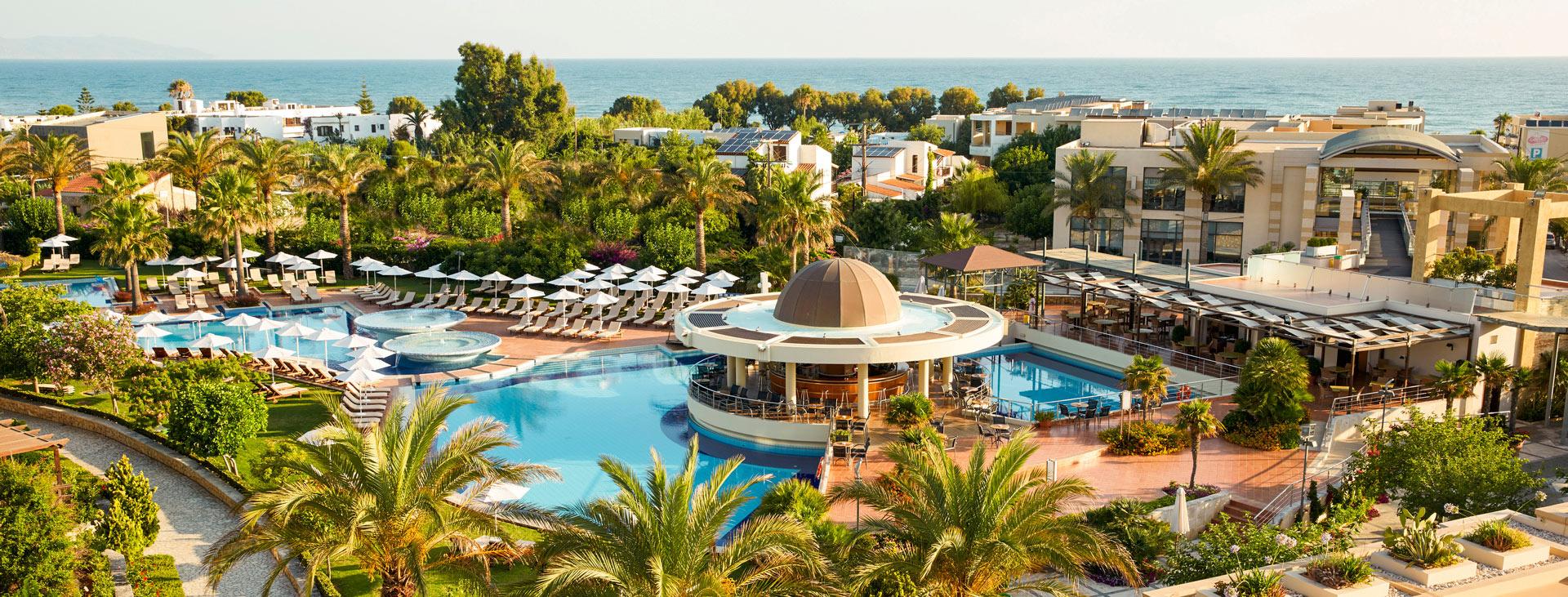 Minoa Palace Resort , Chaniakusten, Platanias, Kreta, Grekland