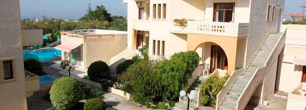 Olga Apartments, Chaniakusten, Maleme, Kreta, Grekland