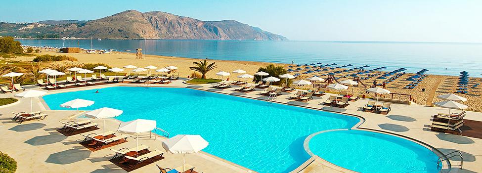 Pilot Beach, Georgioupolis, Kreta, Grekland