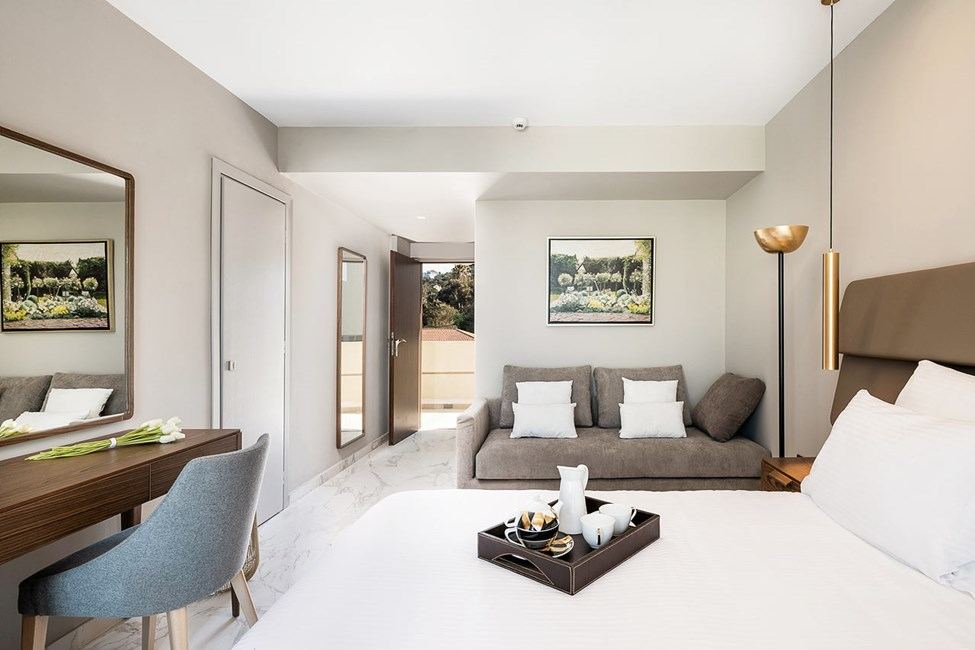 Sov/vardagsrum i dubbelrummen